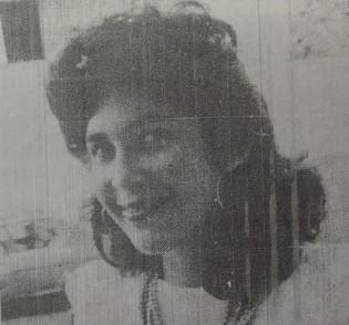 Alides Daza, reina del Carnaval Vallenato de 1983. Fotografía: Diario Vallenato (6/02/1984) y Archivo Histórico del Atlántico.